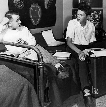 Thomas Harlan und Marc Sabathier-Lévêque in den 1950er-Jahren